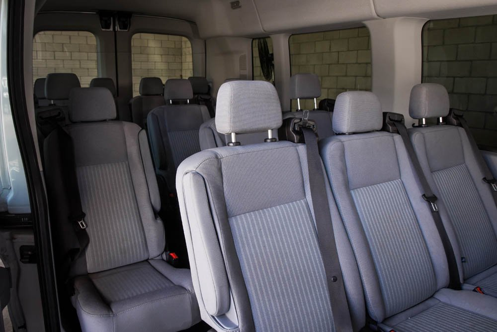 15 Passenger Mid Roof | California Rent A Car
