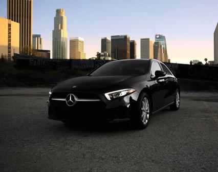 Mercedes A Class   California Rent A Car