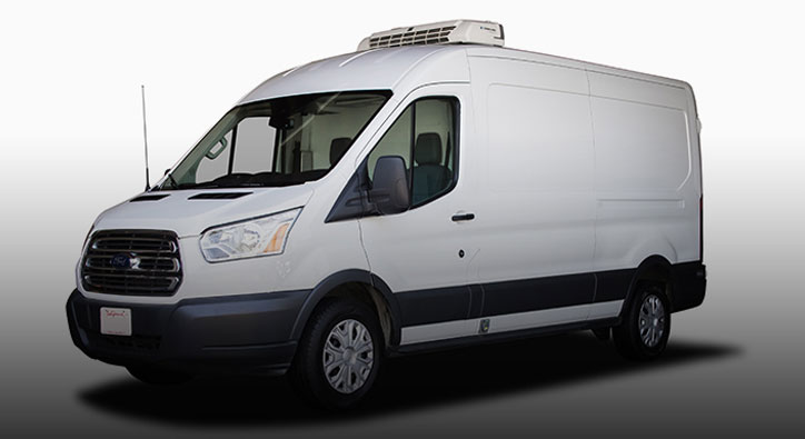 Refrigerated Vans | California Rent A Car