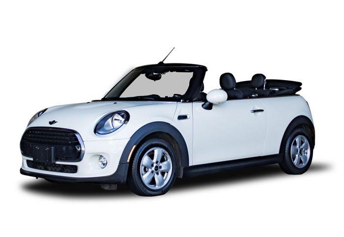 Mini Cooper Convertable   California Rent A Car