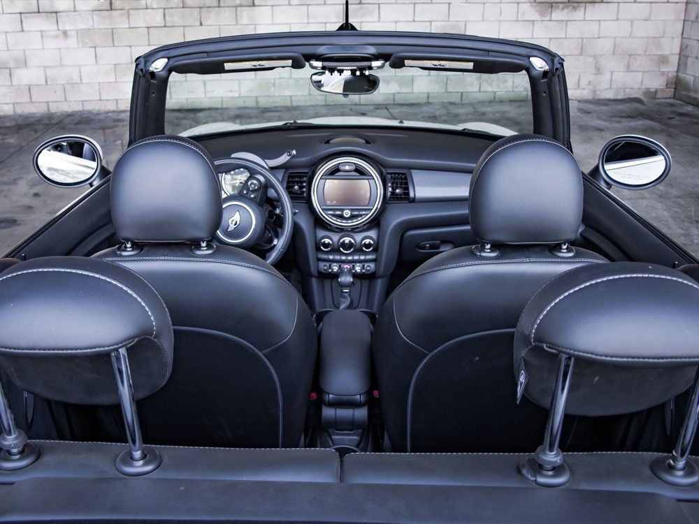 Mini Cooper Convertible   California Rent A Car