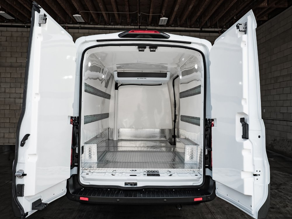 Transit Mid Roof Freezer | California Rent A Car